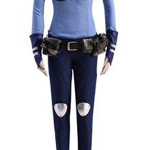Зверополис, Джуди костюм полицейского для косплея Кролик уши хвост Полный аксессуар
