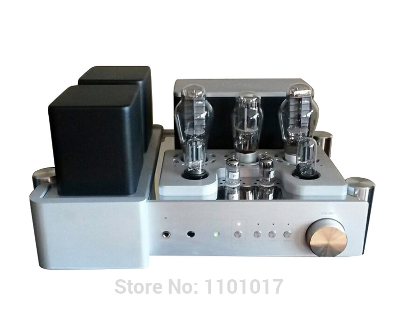 US $865 6 20% OFF|Yaqin MC 300C 300B Tube Amplifier HIFI EXQUIS Single  Ended Class A Integreated Lamp Amp with Remote-in Amplifier from Consumer