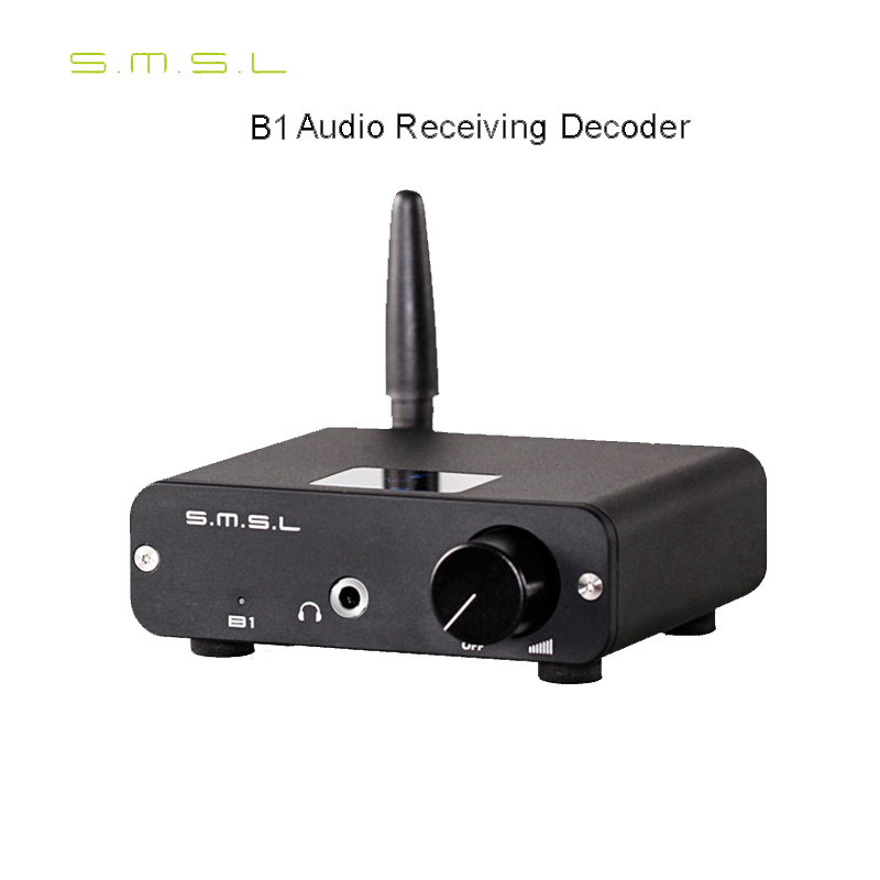 DAC SMSL B1 Digital Turntable Hifi Audio Receiver Decoder Bluetooth CSR 4.2 Support APT-X High-fidelity Stereo Optical Coaxial