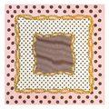 60*60 см дамы саржевого Шелковые шарфы 2016 новый Волновой точки цепи геометрическая скороговоркой цифровой печати женские платки Женщина Wrap