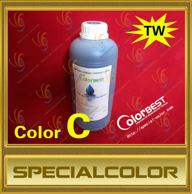 ФОТО Eco solvent ink compatible for Roland/Mimaki/Mutoh printer color C
