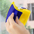 Magnetic Hand Type Brushes Cleaning Airbrush Double Side Glass Wiper Window Surface Brush Cleaner Car Window Wizard Washing Tool