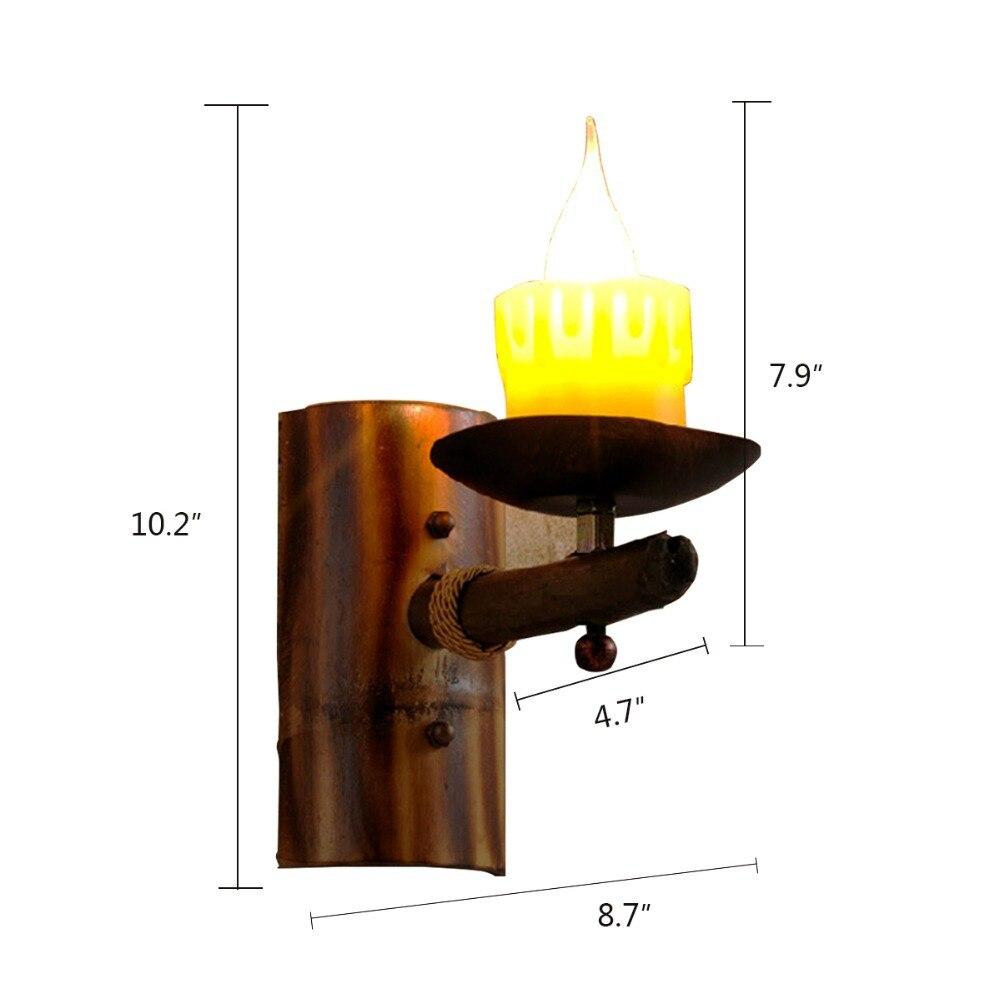 comprar retro nordic ikea vela luz de la pared pas de amrica pared del desvn rh aplique de grabado de madera cafe de la pared del pasillo