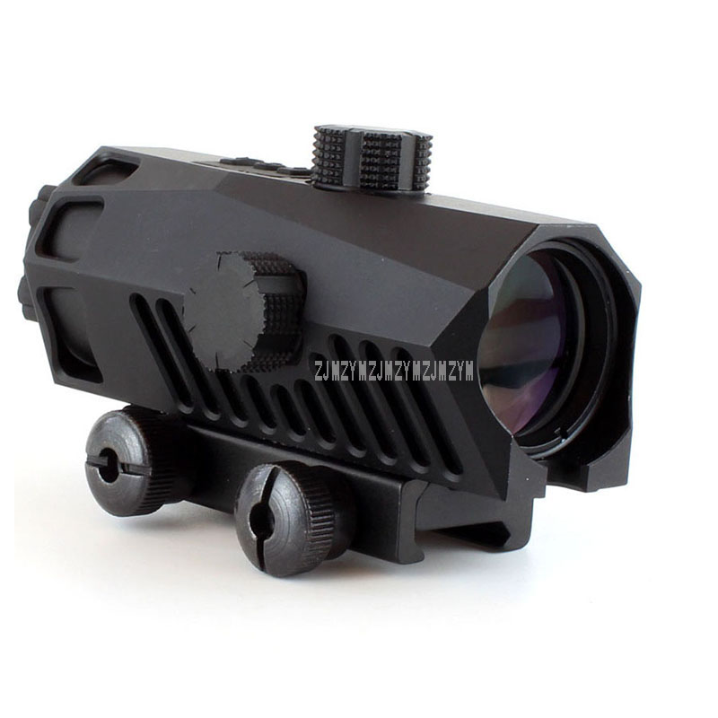 3X30 Riflescope Tactical Optical Rifle Scope Red Green And Blue Dot Sight Scope For Tactical Hunting Scope 151-3x30 цены