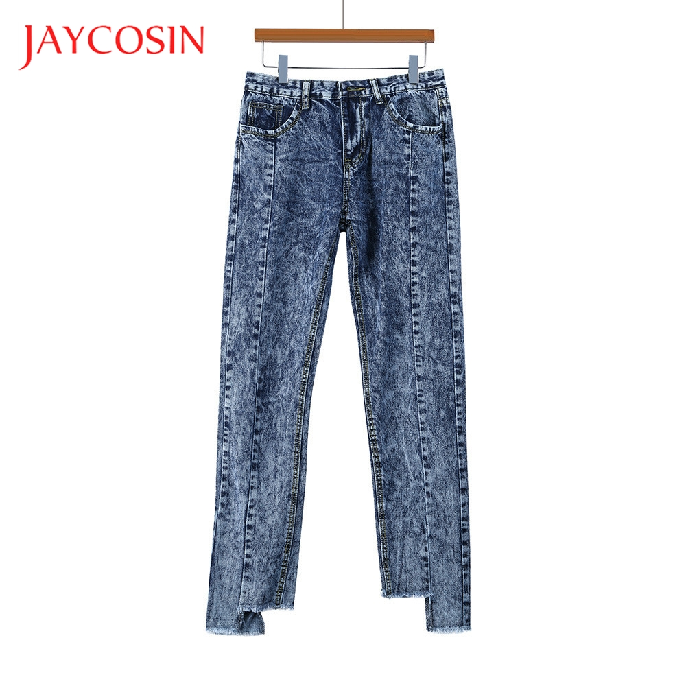 JAYCOSIN Women Skinny Denim Fashion Jeans  Female High Waist Stretch Slim Sexy Pants It Is Very Unique And Breathable Solid
