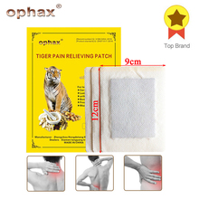OPHAX 6Pcs/2bags Tiger Balm Chinese Herbal Patches Medical Plasters For Muscle Arthritis Joint Knee Back Pain Patch Relief