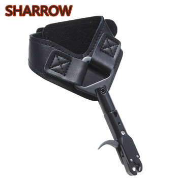 1Pc Compound Bow Caliper Release Aids Wrist Straps Aid Trigger Bow Release For Outdoor Shooting Training Archery Accessories цена 2017