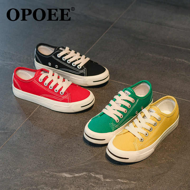 Kids Casual Shoes Boys Girls Canvas
