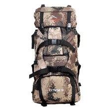 Large capacity outdoor sport backpacks men travel bags Camouflage Mountain climbing backpacks hiking backpacks duffle bag 70L