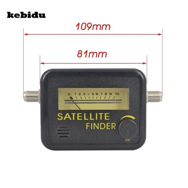 kebidu Digital Satellite Finder Meter FTA LNB DIRECTV Signal Pointer SATV Satellite TV Receiver Tool for SatLink Sat Dish