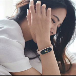 Image 3 - Mi bande 4 bande intelligente Original Xiao mi Sport Fitness Tracker podomètre surveillance de la fréquence cardiaque Fitbits Bracele pour xio mi bande 4 3