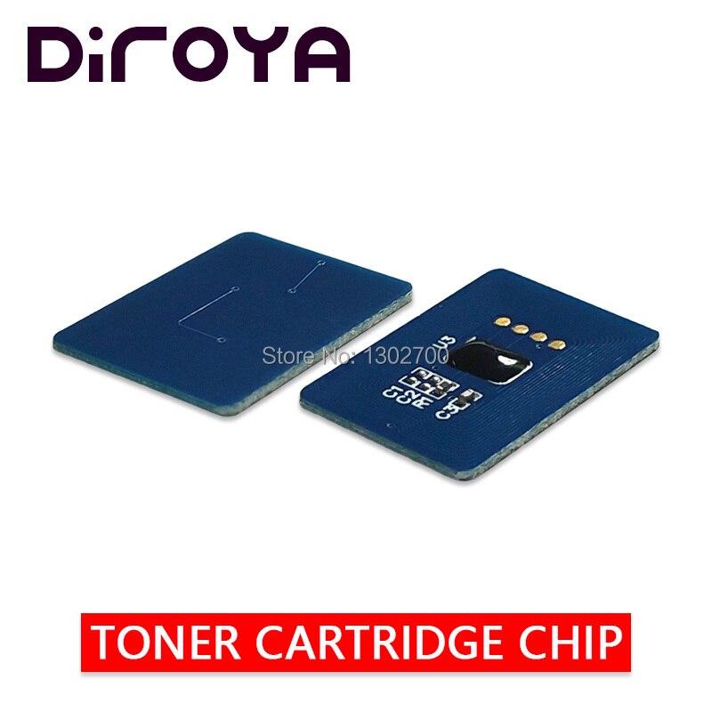 40PCS KCMY 44315308 44315307 44315306 44315305 Toner Cartridge chip For OKI C610 C610dn C610cdn C 610