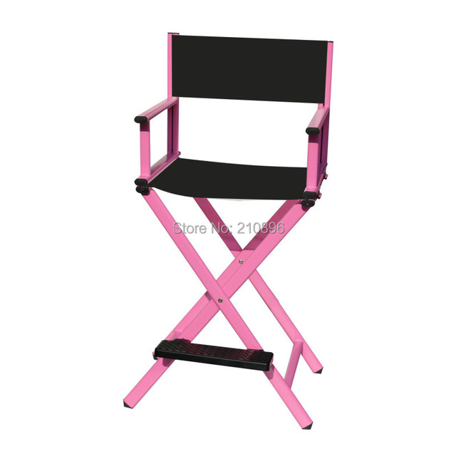 Free shipping to European hairdressing salon chairs directors makeup chair aluminum beach chair black and pink  sc 1 st  AliExpress.com & Free shipping to European hairdressing salon chairs directors makeup ...