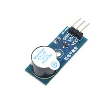 10pcs/lot High Quality Active Buzzer Module for Arduino Electronic building blocks, , low level trigger buzzer control panel.