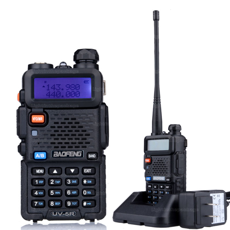 Baofeng uv-5r 8W ptt walkie talkie uv-8HX sister pmr radio walk talk bf-a58 uv5r uvb2 plus uv-b5 tyt cb radio+antena+car charger (9)