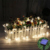 Energía Solar Powered 5 M 20 Alambre de Cobre LED led Al Aire Libre Colorida Lotus Flores Luces de Cadena para la Fiesta de Navidad luz