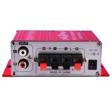 20 W Hifi Mini Numérique Amplificador Moto Auto Voiture Stéréo Amplificateur de Puissance Mode Sonore Audio Soutien DVD MP3 Pour La Maison