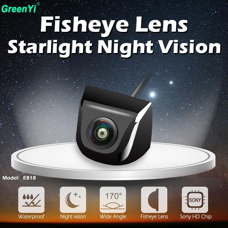 170 Degree Fisheye Lens HD Starlight Night Vision Sony MCCD Car Reverse Backup Rear View font