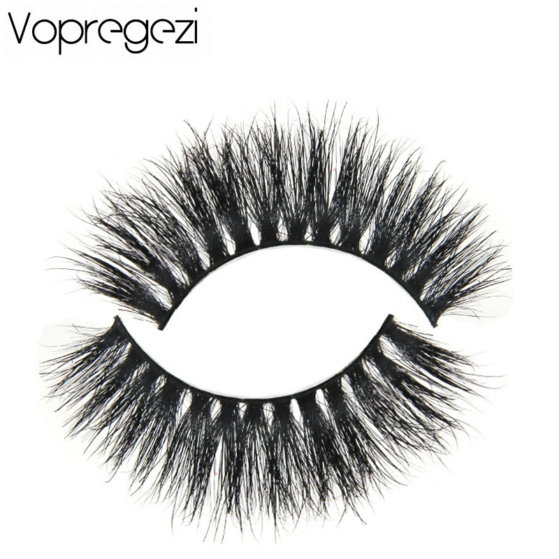 Vopregezi 1pair Messy Cross Mink Eyelashes Extension for Women Makeup Tools Resnitsy Natural Long Soft False Eyelash Eyes Beauty