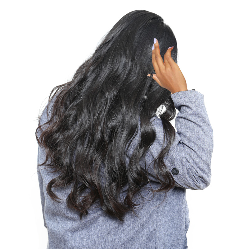 Шелк База Синтетические волосы на кружеве Человеческие волосы Искусственные парики предварительно сорвал 250% плотность бразильский Средст...