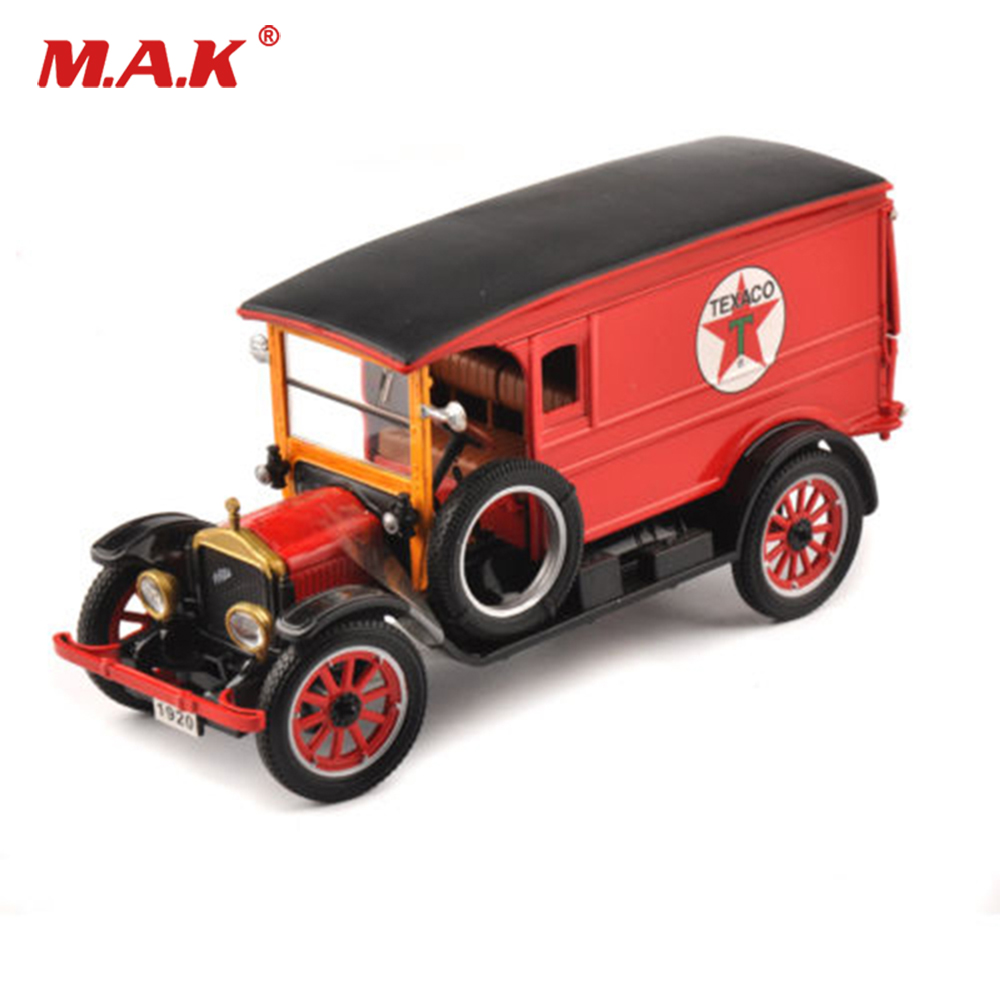 Hot Kids Toys 1/32 Scale Diecast Alloy Van 1920 WHITE Wan Car Model Toy Cars Children Collections Gift