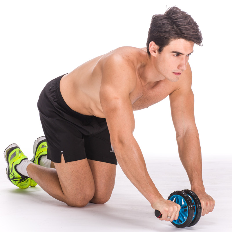 Trbušni kotač nijem trbušni kotač abdomen fitness oprema - Fitness i bodybuilding - Foto 5