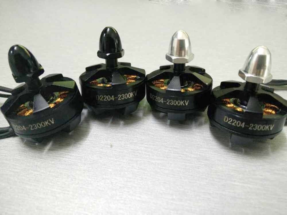 4 पीसी 2300kv 2804 D2204 X2804-2280kv CW CCW मल्टी - रिमोट कंट्रोल के साथ खिलौने