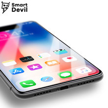 SmartDevil 9H tempered glass for apple iphone X mobile phone protective film smartphone screen protector cover Toughened Glass smartdevil screen protector for meizu 16th tempered glass protector film 2 pieces mobile phone toughened film anti fingerprint