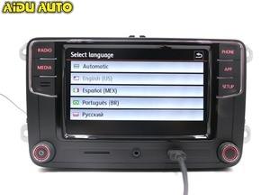 Image 3 - CarPlay Android otomatik RCD330 RCD340 artı Noname radyo 187B C210 VW Tiguan için Golf 5 6 Jetta MK5 MK6 Passat CC Polo 6RD035187B