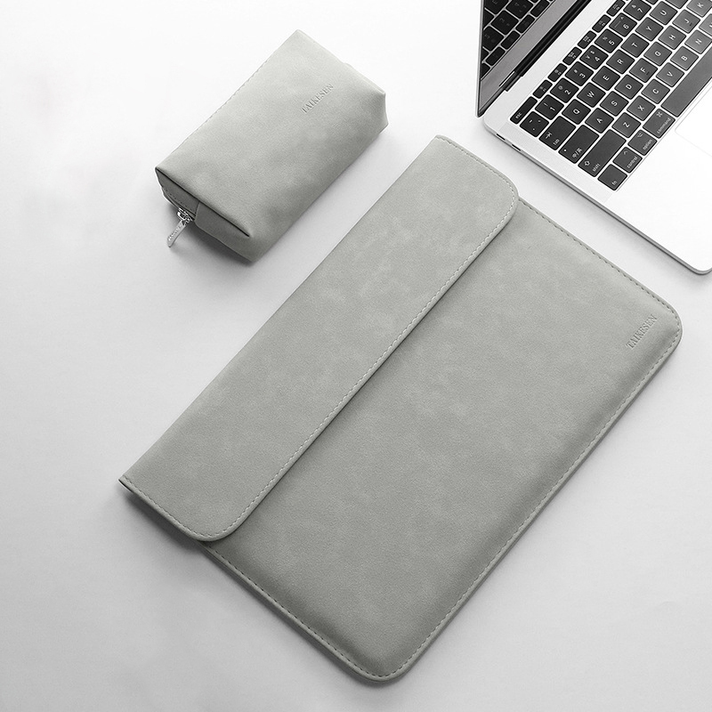 Matte PU Leather Sleeve Women Laptop Bag 15.6 14 12 11 For macbook Air 13 2019 Case Pro 15 For Xiaomi Mi Notebook 13.3 Men Cover-in Laptop Bags & Cases from Computer & Office on AliExpress - 11.11_Double 11_Singles' Day 1