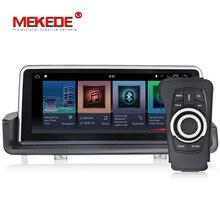10,25 дюймовый автомобильный мультимедийный проигрыватель gps Android 7,1 1 Din DVD Automotivo для BMW/3 серии E90/E91/E92/E93 2 Гб Оперативная память радио FM Wi-Fi