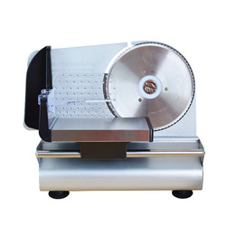 110/220V Automatic Electric Meat Slicer Stainless Steel Multifunctional Fruit Bread Vegetable Meat Food Slicer Chipping Machine