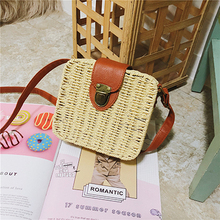 купить HIFAR 2019 Hand-woven Summer Women Straw Bag Ladies Small Shoulder Bags Bohemia Beach Bag Crossbody Bags Travel Handbag Tote по цене 1459.88 рублей