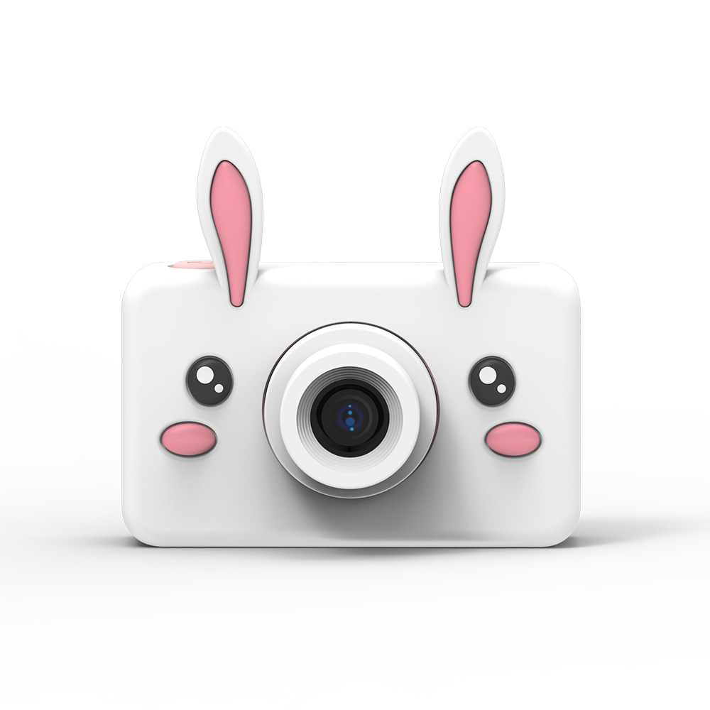 Jouet caméras 8MP bande dessinée caméra HD vidéo Mini caméra caméscope pour enfant bébé cadeaux 2.2 pouces numérique vidéo créative bricolage 8GB mémoire - 2