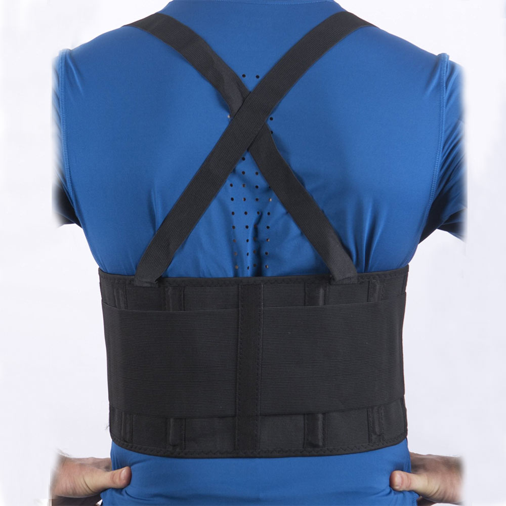 Back Brace Lumbar Support Belt Adjustable Straps Pain Relief Neoprene Strap For Lower Waist Therapy Portable Pain Massager hailicare back relief belt waist brace support belt lumbar traction backach waist brace pain release health massager health care