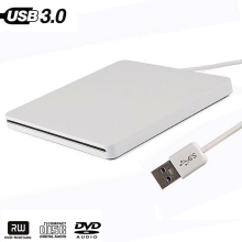 External USB 3.0 High Speed DL DVD RW Burner CD Writer Slim Portable Optical Drive for Asus Samsung