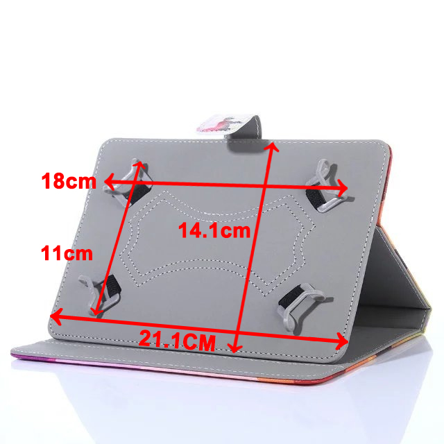 UNIVERSAL Cover for 7 Inch Tablet Lenovo Tab E7 4 3 7 Essential  TB-7504/7304 710/730 Tab 2 A7-30/A7-20 A7-10 A3300 A3500 S5000