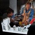 Новые пластиковые деревообрабатывающие ручные инструменты для крепления профессионального алюминиевого сплава косой сверлильный локато...