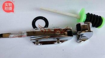 Cold storage convex door freezer return flat door handle / ZW-1178 safety door lock / safety handle / freezer lock