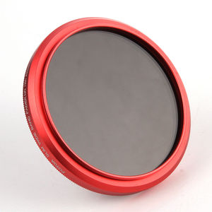 Image 3 - FOTGA 58mm ND Filters Camera Slim Fader ND(W) Red Ring Filter Variable Adjustable ND2 ND8 to ND400