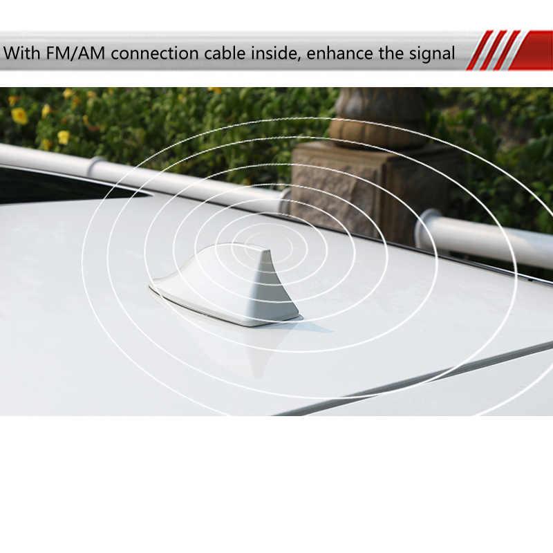 Mobil Shark Fin Antena Radio untuk KIA RIO K2 Sportage Jtsl Sorento Cerato Jiwa Hyundai Solaris Ix35 Tucson I30 HB20 mobil Stying