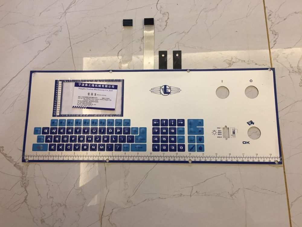 Lonati L462 L472K Socks 1998-2000 Year Machine Use Keyboard 0430019
