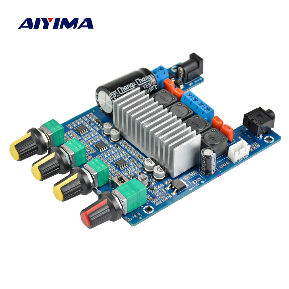Aiyima TPA3116 2.0 Assembled Amplifier Hifi digital Board High Power Amplifiers Dual Channel Stereo Tone Finished Boards 2*50W