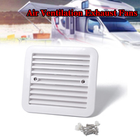 Side Air Ventilation Exhaust Fans 12V Fridge Vent With Fan For RV Trailer Caravan Exhaust System Accessories Car Styling