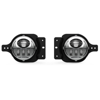 New 1Pair 4 INCH Round LED Fog Lights 17W Fog Driving Light For 2018 2019 Jeep Wrangler JL With Bracket