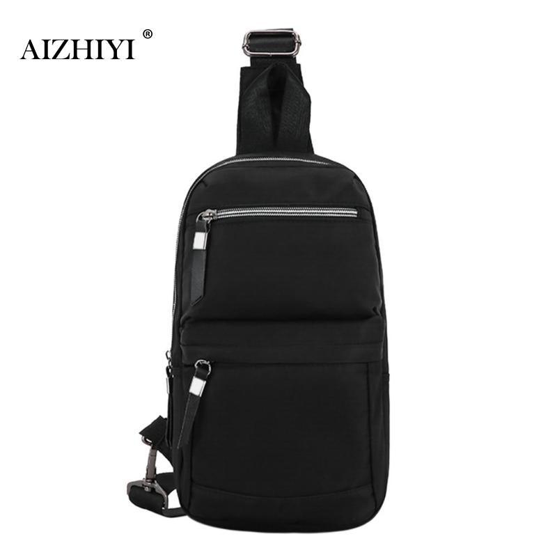 Crossbody Bags for Men Messenger Chest Bag Pack Casual Bag Waterproof Oxford Single Shoulder Strap Pack Travel Women Bag 2018