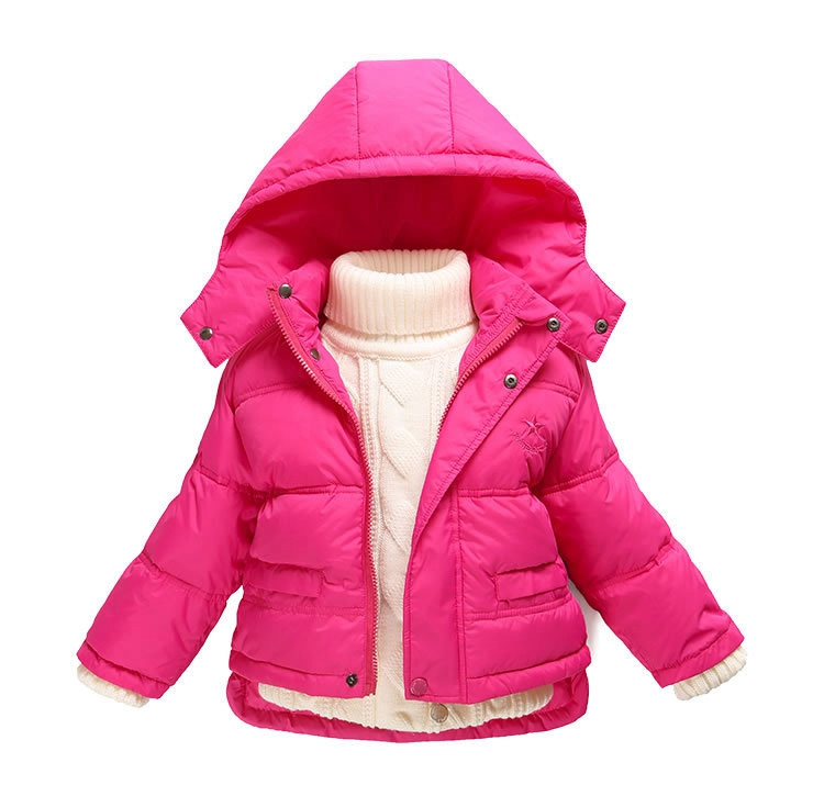Fashion 80% Eiderdown Baby Girl Winter Coat Newborn Snowsuit For Baby Boys Duck Down Outerwear Clothes For Children Jackets (2)