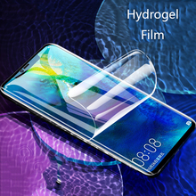 все цены на For Huawei Mate 20 Pro Screen Protector  3D Full Soft Hydrogel Film For Huawei Mate 20 Lite 20X 10  Pro Not Glass