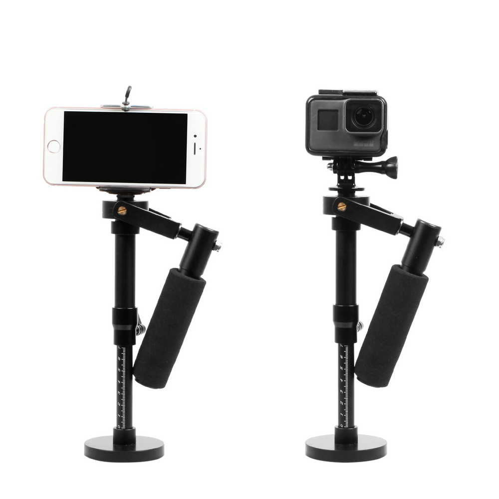 Meking Handheld Camera Stabilizer Phone Stabilizer For GoPro HERO 6 5 4 3 2 Steadicam Iphone 6 7 Plus Smartphone New Arrival