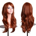 Women's Fashion Wig Curly Hair Wigs With Bangs Long Curly Hair Brown Curly Hair HB88
